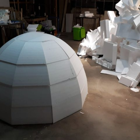 Styrofoam Igloo