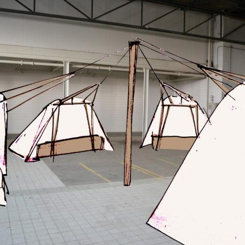 Indoor City Camping